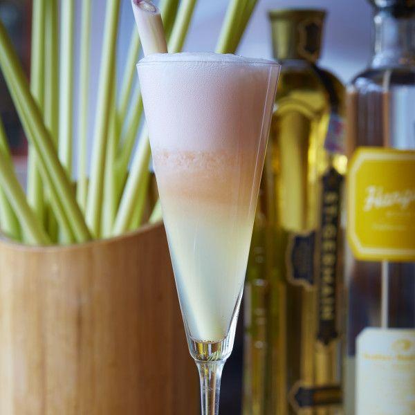 Recipe: Dallas' Malai Kitchen's Lemongrass Fizz Cocktail recipe via The Local Palate