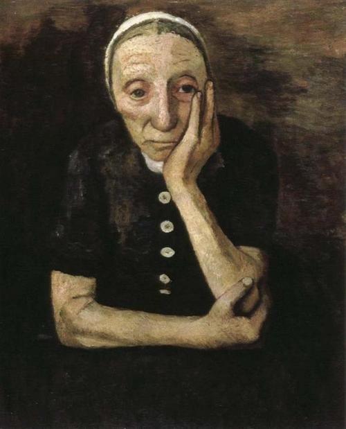 by Paula Modersohn Becker.1876-1907