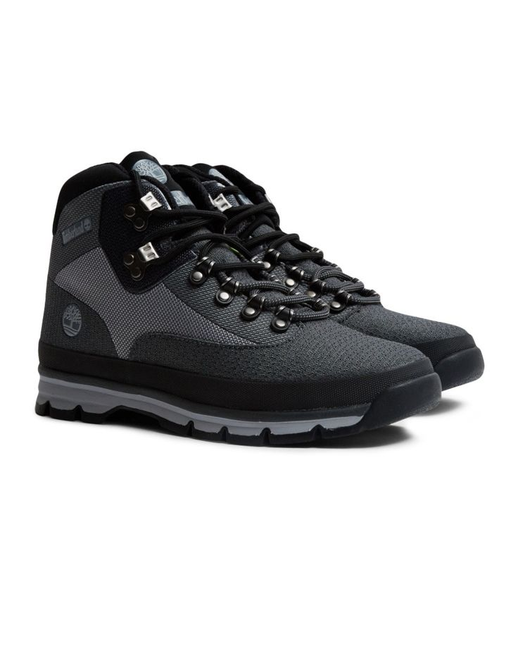 Timberland Euro Hiker Mid Jaquard Grey | Shop men's clothing at The Idle Man