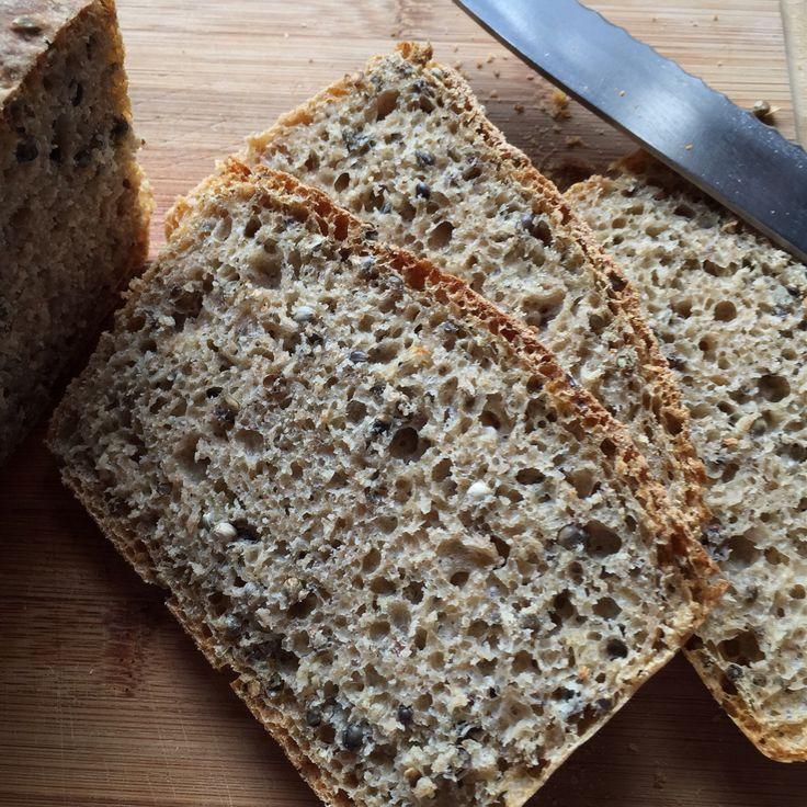 Wir hatten zum ersten Mal Hanfsamen zu Hause. Im Müsli waren sie doch recht hart. Da haben wir kurzerhand dieses knusprige Brot gebacken. Entdeckt bei Chefkoch und etwas abgewandelt  Zutaten: 300 …
