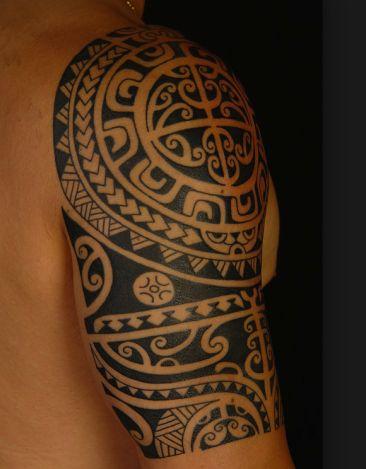 Hawaiin(Maori) Arm Tattoo