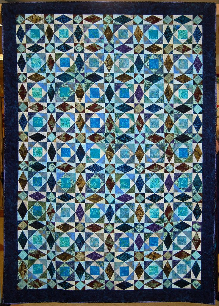 300 best QUILTS - STORM AT SEA & OCEAN WAVES A images on Pinterest ... : ocean waves quilt guild - Adamdwight.com