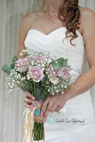 Reinette & Damon Wedding.  Bouquet.