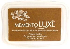 Memento Luxe PEANUT BRITTLE Ink Pad Tsukineko ML-802