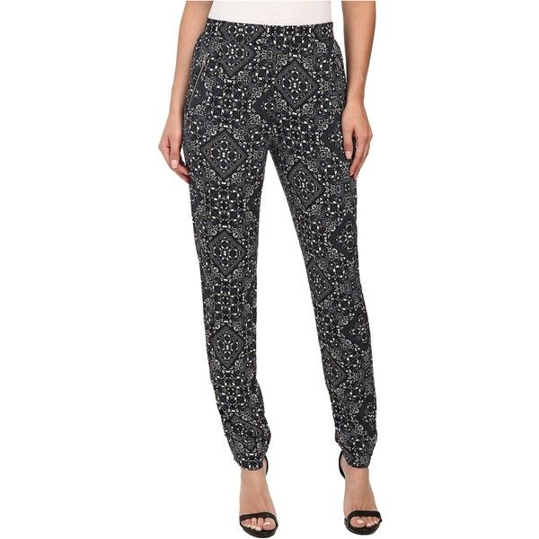 ONLY Frida Pants Women's Casual Pants, Black ($27) ❤ liked on Polyvore featuring pants, black, lightweight pants, relaxed pants, black pants, black cuff pants and black flat front pants
