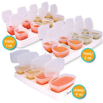 Baby Cubes Container Mpasi