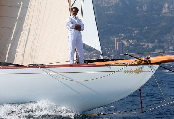 Rafael Nadal - ATP Masters Series: A relaxed Rafa doing one of the things he loves most, sailing a beautiful boat in the gorgeous waters off Monte Carlo : )