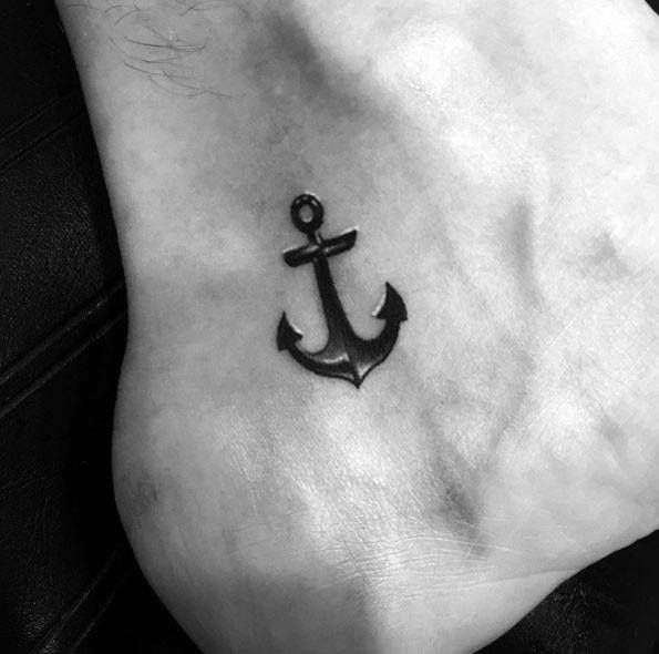 Top 43 Simple Anchor Tattoo Ideas 2020 Inspiration Guide Small