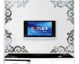 Custom wall sticker design square mirror acrylic mirror sticker MA-057