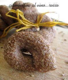 Wine donuts