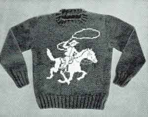 Rodeo Rider Sweater, Size 4 | Knitting Patterns
