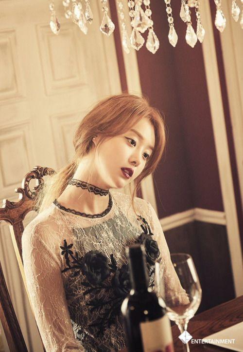Song Ji Eun (Secret) - Bobby Doll MV BTS Pics...