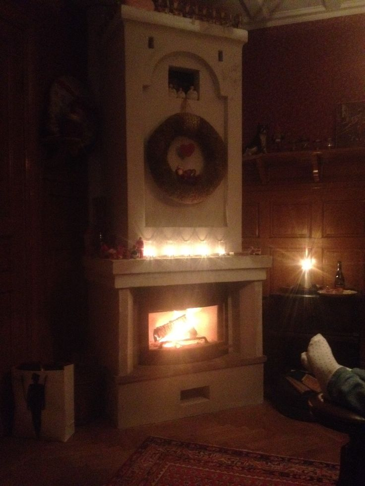 My fireplace, best place to be in winter