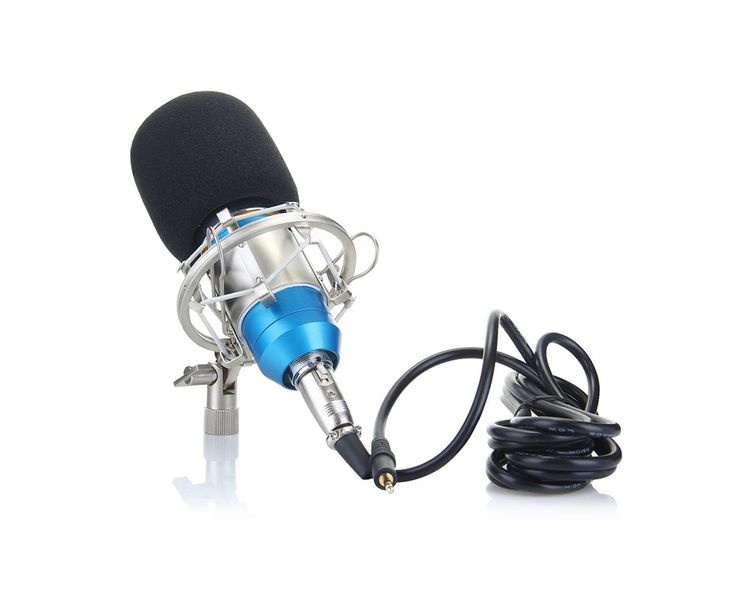 Best Condenser Microphones for Vocals Under $100 Building a home studio may be one of the things that music producers and artists will very happily do in order to record their music, but it does not always come cheap. You need to invest into studio equipment and soundproof materials to build a nice listening and recording environment.   #mic #microphone #pop filter #shockmount