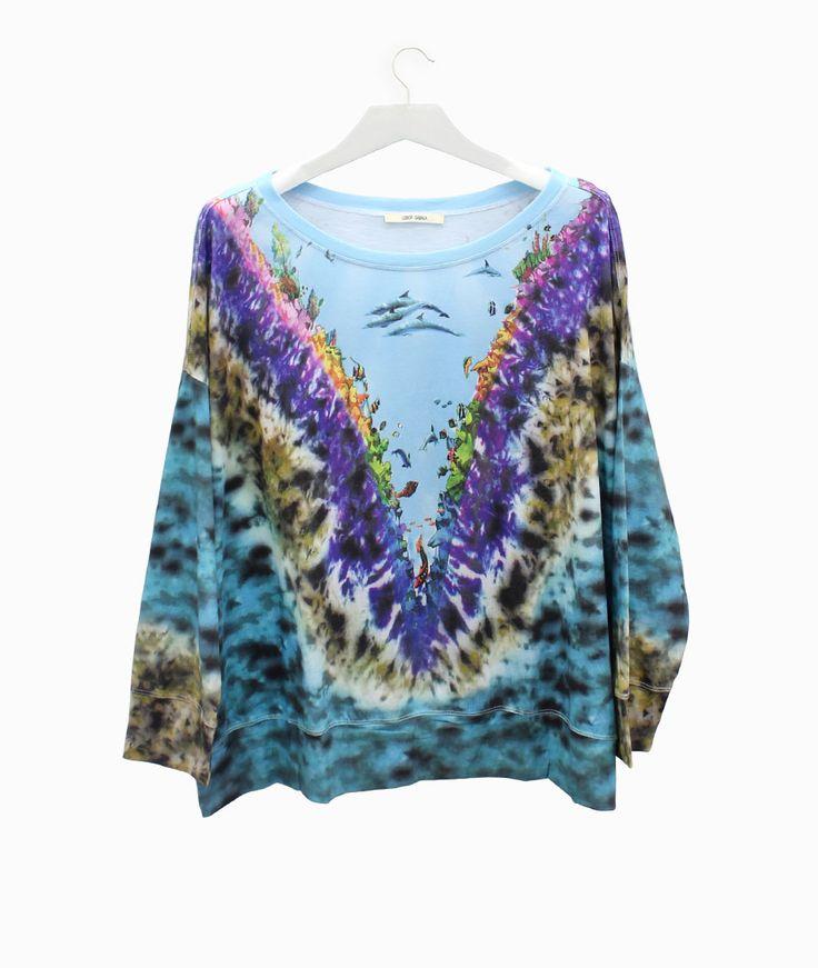 Lebor Gabala see print t-shirt #arropame #conceptstore #bilbao #ss2016 #LeborGabala #fashion #shopping #trendy #style http://arropame.com/lebor-gabala-primera-capsula-ss16/