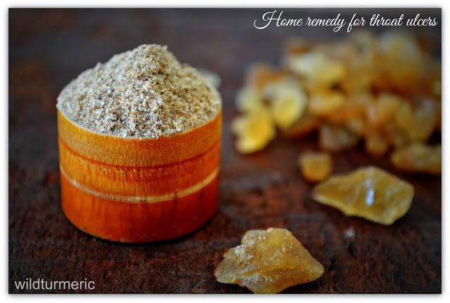 Home remedy for throat ulcers