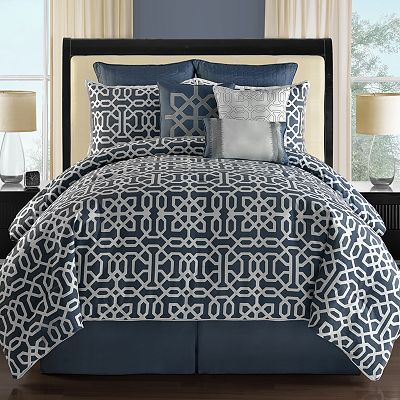 Metropolis Westerly 9 Pc Reversible Comforter Set My