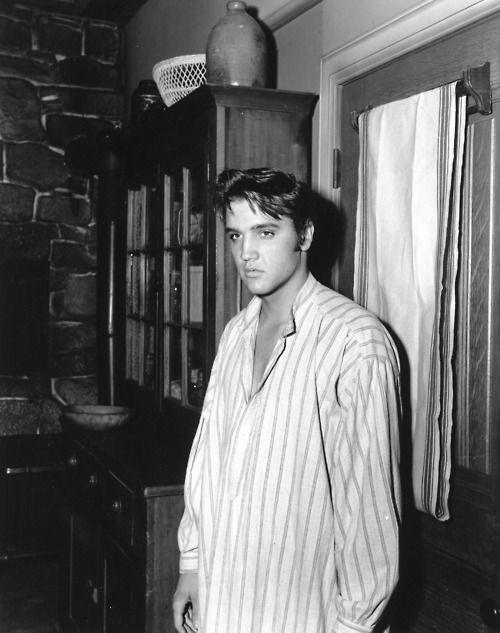 Elvis in his pajama's