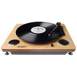 Toca Discos de Vinil com Conversor Digital e Alto Falantes Archivelp - ION