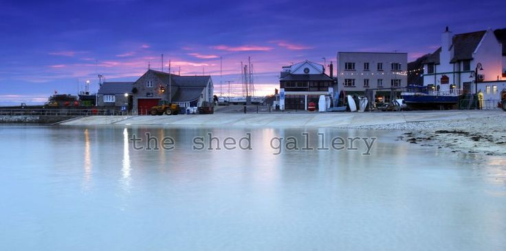 Lyme Regis Twilight - Photography by Ollie Taylor - The Shed Gallery
