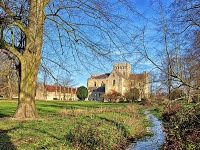 Winchester, Hampshire, England. I liked it here.