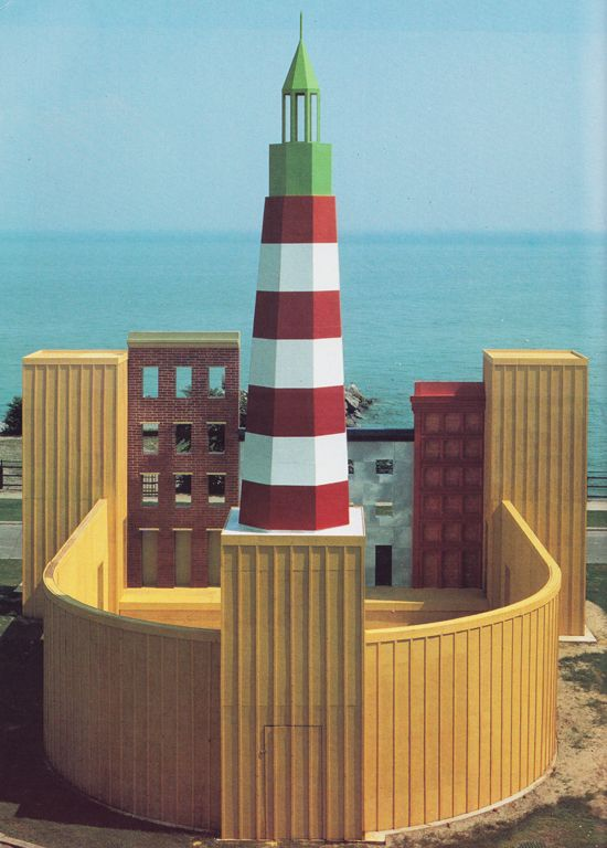 Aldo Rossi Lighthouse Theater, Lake Ontario, Canada, 1987