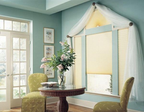 tolle ideen wie sie ihr dreiecksfenster verdunkeln einrichten deko pinterest pelz. Black Bedroom Furniture Sets. Home Design Ideas