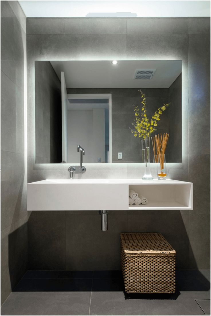 38 bathroom mirror ideas to reflect your style freshome from Large Mirror For Bathroom