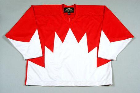 Team Canada Jersey 1972 Summit Series.