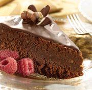 Flourless Chocolate Cake with Almonds and Chocolate Glaze: Desserts Cakes Pies Etc, Recipe, Flourless Chocolate Cakes, Flourless Chocolates Cakes, Flourless Cakes, Chocolates Glaze, Eating Cakes, Cakes W Almonds, Almonds Hmmm Flourless