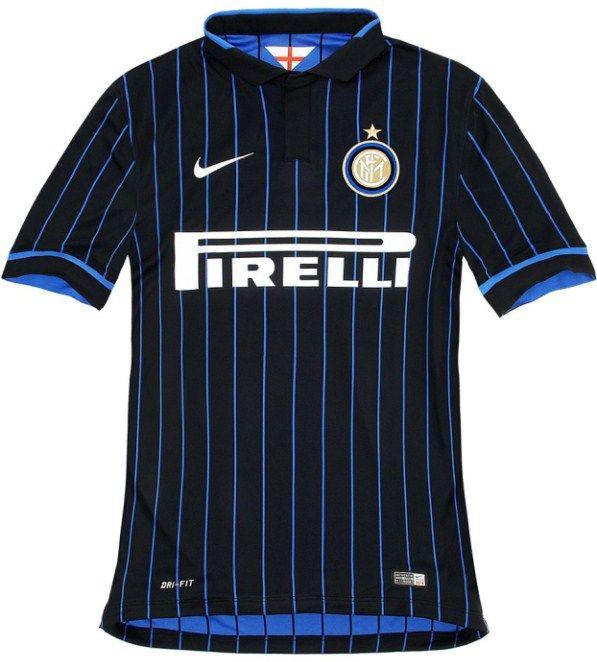 nice day sports new inter milan 2014 15 nike home jersey shirt kit.