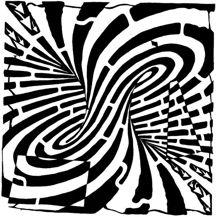 Optical Illusion Coloring Pages Free Printable Optical Illusions Optical Illusions Art Illusion Art