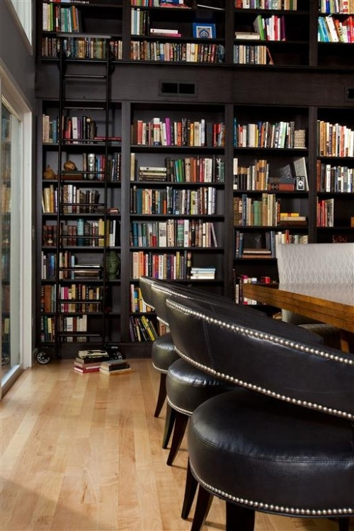 36 best images about dining room home library on for Dining room bookcase ideas