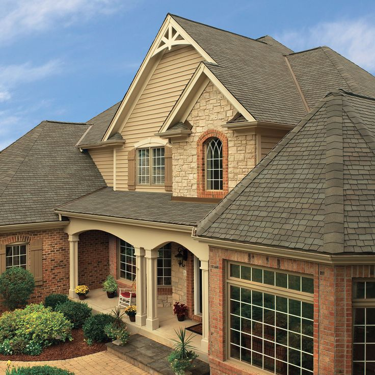 Weathered Wood Architectural shingles, Cheap roofing