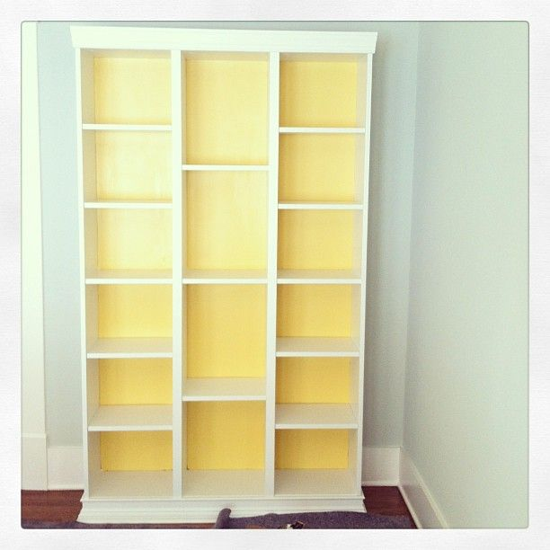 Ikea Hack Three Billy Bookcases Combined Ikeahacking Ikeahacks