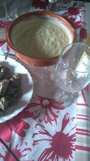 Receta, fondue, ternera, queso, recetas para el embarazo