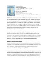 Teacher's Guide to America Is Under Attack: September 11, 2001–The Day the Towers Fell by Don Brown.  (Grades 1-5) http://www.teachervision.fen.com/discussion-guide/printable/71105.html #September11 #PatriotDay #ushistory