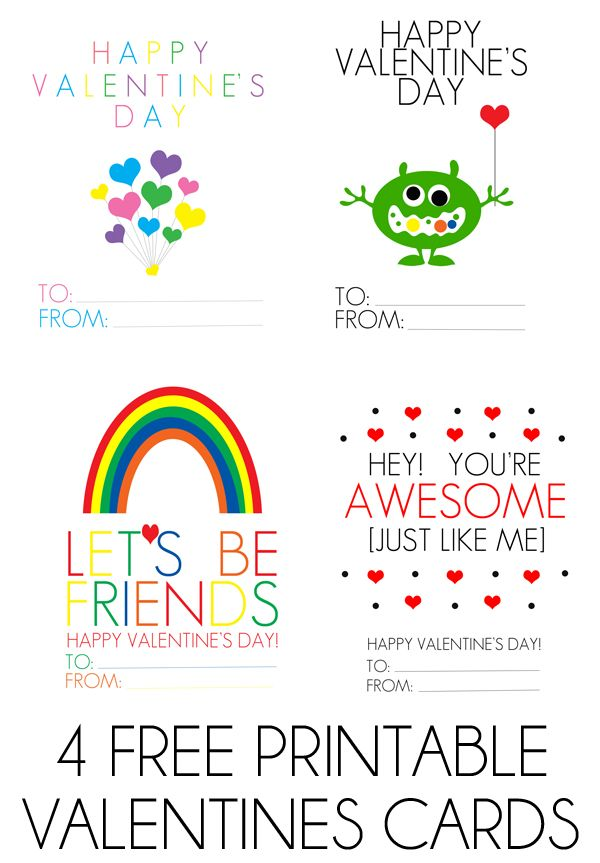 25 best ideas about Valentines day printables – Valentines Cards to Color