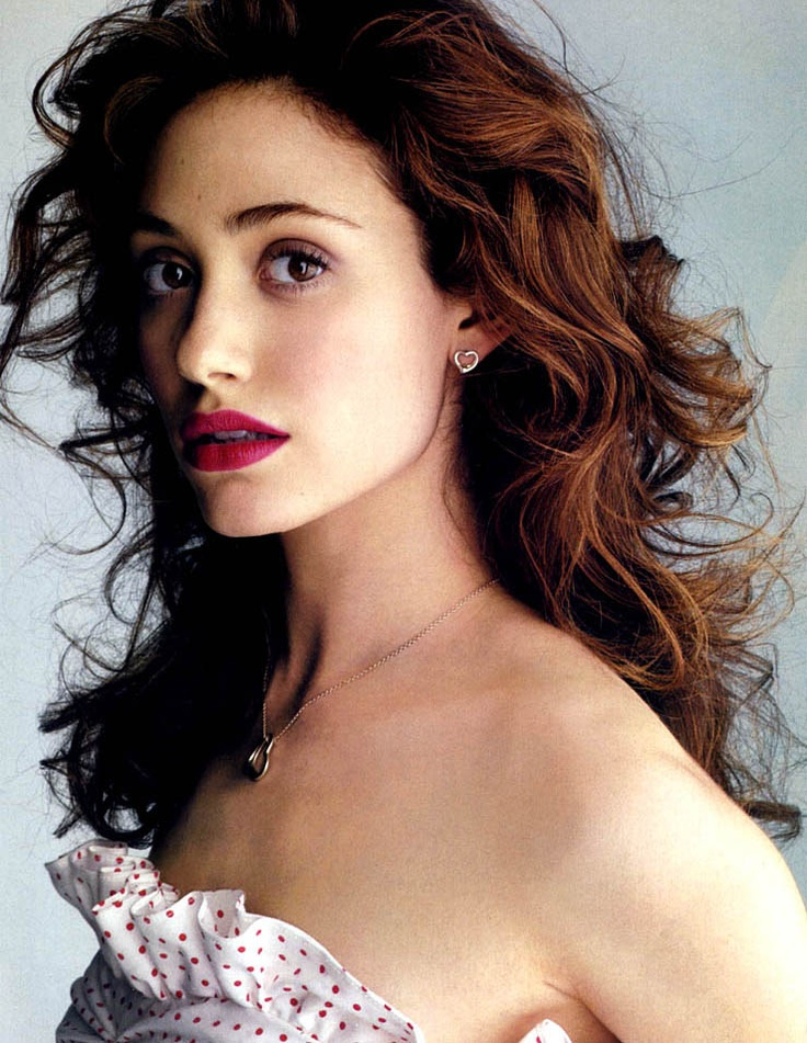 Emmy Rossum. For all of you who watched Phantom of the Opera and Skins the original version not the US crap