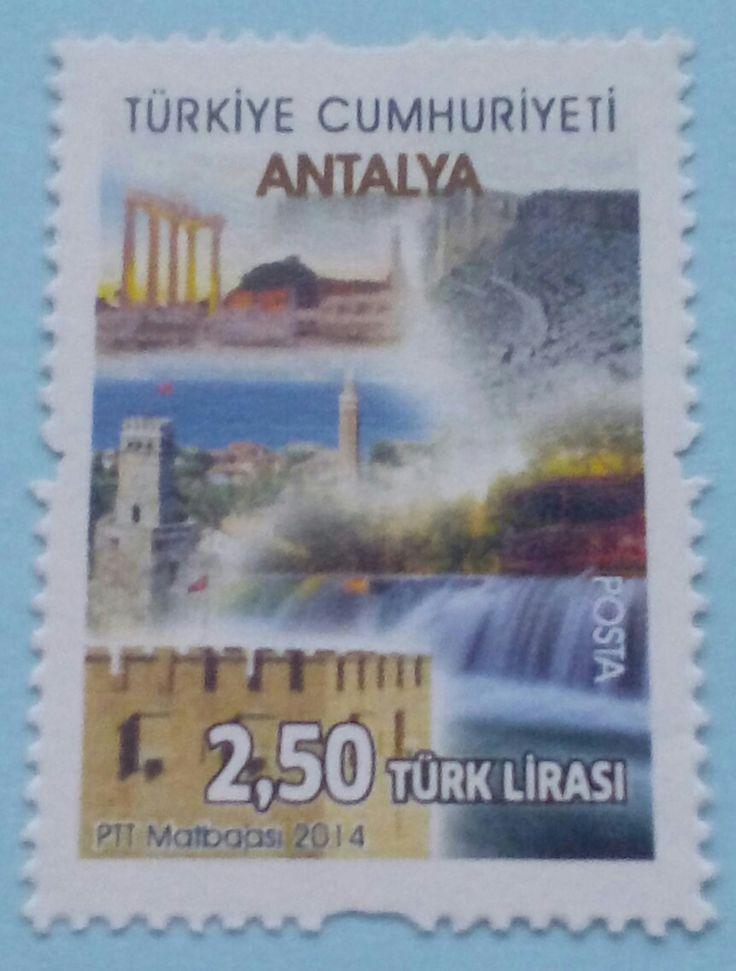 """Stamp 2014 """"Antalya"""", Turkey"""