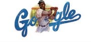 Google is honoring the first African-American baseball player with a doodle on Jackie Robinson's 94th birthday. And a new movie, '42,' opens soon that portrays the life of Jackie Robinson.