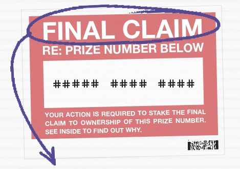 Did You Receive A PCH Envelope That Says Final Claim? - PCH