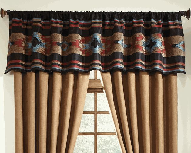 Red River Southwestern Valance