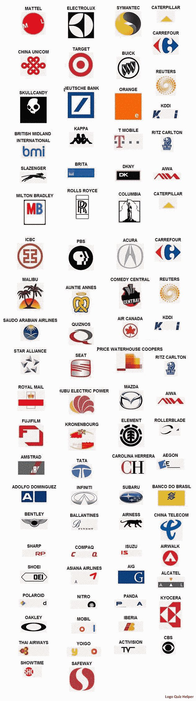 8 best Logo Quiz Cheats images on Pinterest | Game logo ...