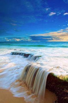 Waterfall Beach - Rainbow Coast ~ is a fresh waterfall located in William Bay National Park in Denmark, Western Australia