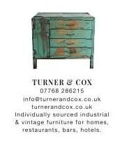 Turner & Cox | Warehouse Home | Industrial | Vintage Furniture | #ClippedOnIssuu from Warehouse home Issue Two