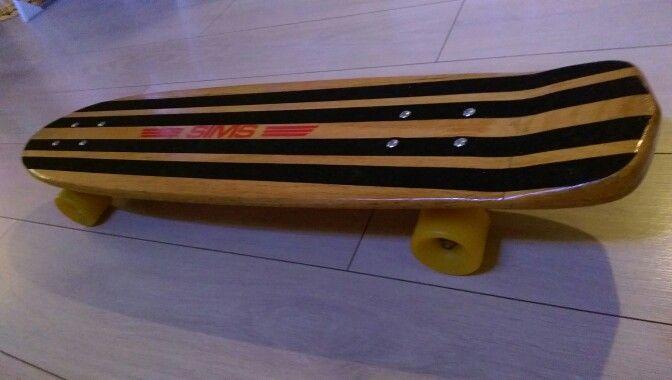 Skateboard sims woodkick nos