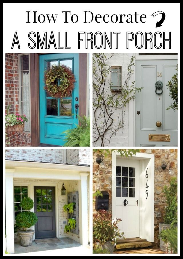 Best 25 small front porches ideas on pinterest small for Small front porch decorating ideas