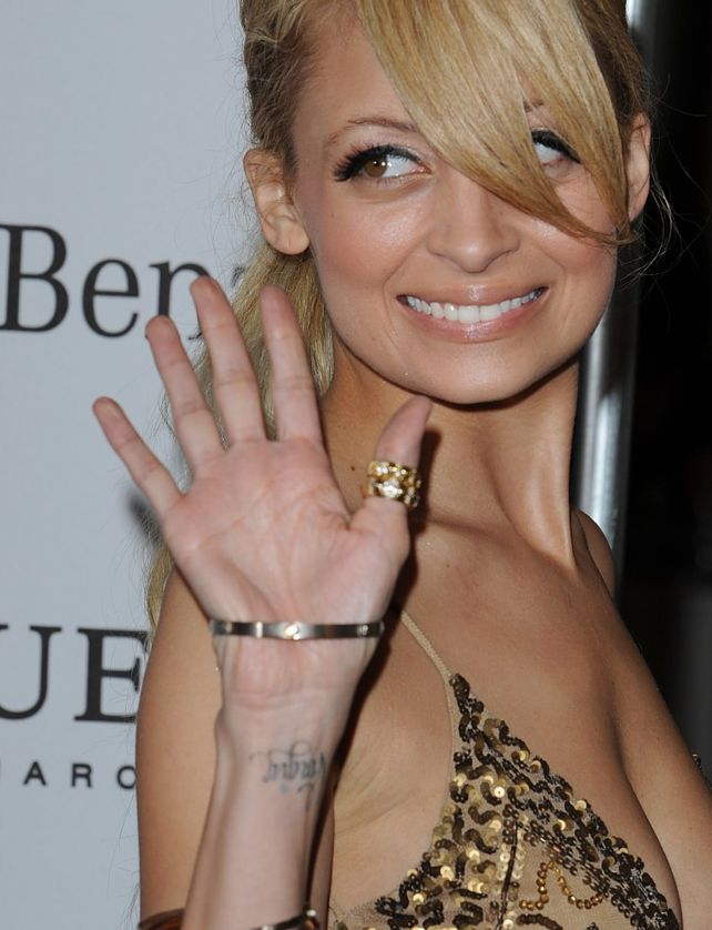 nicole richie wrist tatoo virgin celebrities tattoos pinterest nicole richie wrist. Black Bedroom Furniture Sets. Home Design Ideas