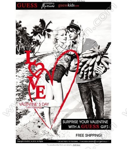 34 best email design sexy emails images on pinterest email be inspired by our email design gallery guess subject line surprise your pronofoot35fo Gallery